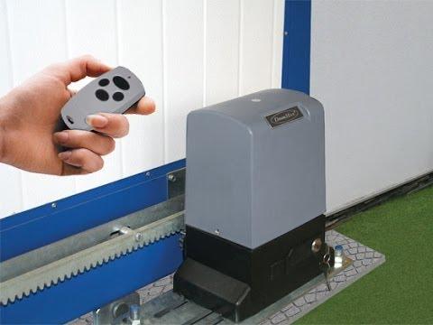 Автоматика для откатных ворот в Волгограде Алютех.